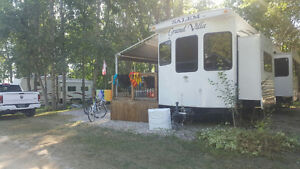 Seasonal Trailer for Sale at Batman's Cottages and Campground