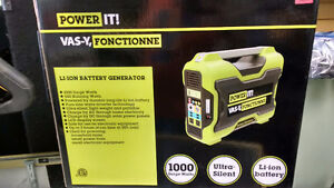 Power It! Li-Ion Battery Generator 1000W. Still in the box