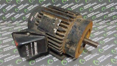 Used 2 Hp Marathon Electric Motor 145tcz Frame 230460v 17503525 Rpm