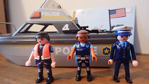 Playmobil Police Boat (5786) for sale