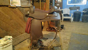 Synthetic Western Saddle