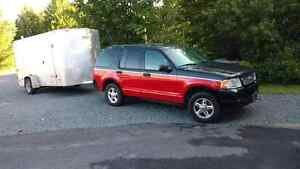 Ford explorer xlt 2004  autaumatic 4x4
