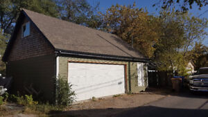 Triple car garage with 8' Loft and 4700sq ft lot
