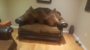 Two piece sofa from Ashley