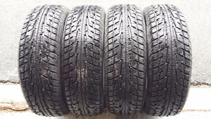 **PNEUS D'HIVER FEDERAL ¨HIMALAYA SUV¨ 17¨ **COMME NEUF*