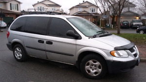 for sale dodge caravan 2003 with e-test included