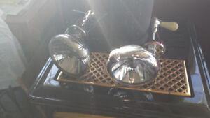 Lumières pour voiture antique
