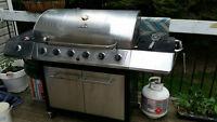 6 burner Char Broil BBQ 150$ OBO