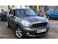 2012 Mini Countryman 1.6 One 5dr Manual Petrol Hatchback