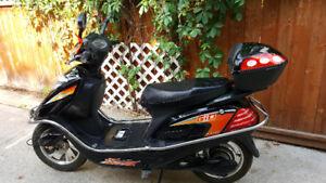 Sporty electric bike