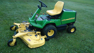 f725 heavy duty industrial style lawn mower