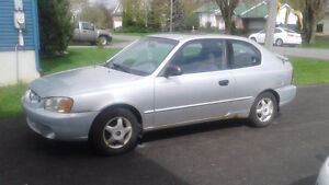 2001 Hyundai Accent Berline