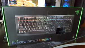 Razer BlackWidow x Chroma RGB Mechanical Keyboard!