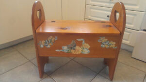 Storage Bench with Seat