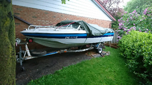 """16'6""""  bow rider, will part out sell complete OK"""