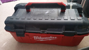Big Milwaukee Tool Kit with Tools and Other Stuff  Has about 30