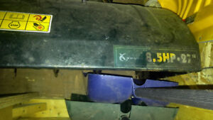 Yardworks 27 inches snowblower