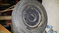8 bolt GMC winter tires and rims