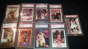 Graded Basketball cards