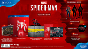 Spider-Man Collector's Edition *NOT THE PS4 PRO BUNDLE*