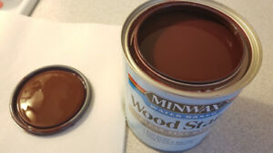 Minwax Antique Red Wood Stain - Water based