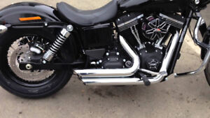 2006-17 Dyna Vance and Hines Short Shots -Chrome