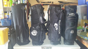 Golf Bags. Accuform, Nike, Wilson Staff, Great Divider