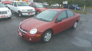 2005 DODGE SX  2.0 *** LOW KM *** CERT $3995 *** 100% APPROVED