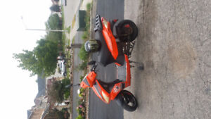 60v e scooter sell or trade for 50 cc gas bike