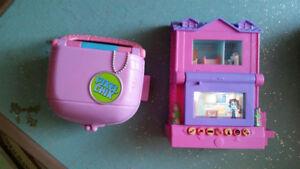 2 Pixel Chix Electronic Interactive Houses