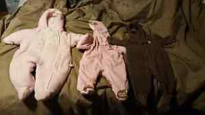 3 month snow suits