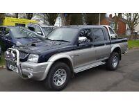 Mitsubishi L200 2.5TD 4LIFE ST/T (blue/silver) 2005
