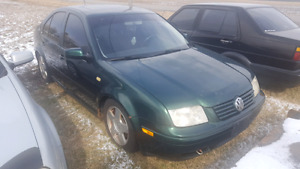 1999 Volkswagen Jetta Sedan (Green)