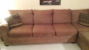 Sectional Couch with Queen Pullout