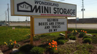 STORAGE, PARKING, BOXES AND TRUCKS, WE HAVE IT ALL!