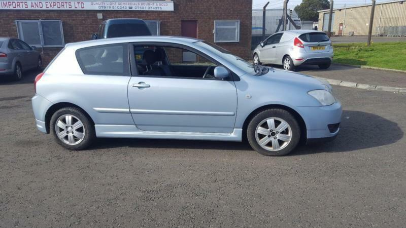 2005 55 plate Toyota Corolla 1.6 VVT-i Colour Collection
