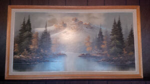 Series Of Mountains Paintings Strathcona County Edmonton Area image 6