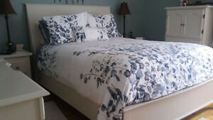 New price - downsizing - very solid double bed frame