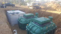 septic system install and repair.