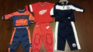 Youth NHL tracksuits