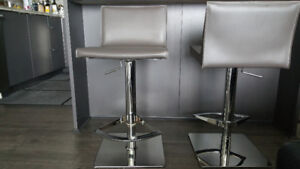2 Contemporary Bar Stools for Sale