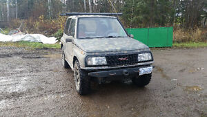 1990 Chevrolet Tracker SUV, Crossover Prince George British Columbia image 2