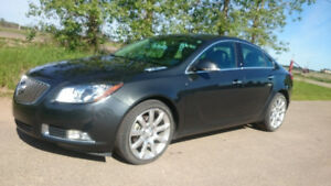 2013 Buick Regal Turbo Low km Loaded Leather Heated Seats/Wheel