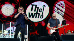 The Who Tickets...FLOOR BELOW COST....Need This Gone