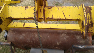 Roller 3 point hitch. 5 f width . Also farm equipment.