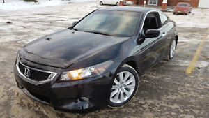2009 Honda Accord EXL Coupe Low KM V6
