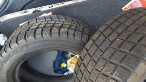 2 Michelin winter tires