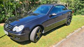 Mercedes CLK Kompressor Convertable
