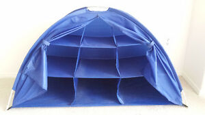 COLLAPSIBLE STORAGE TENT GREAT FOR TOYS, GAMES, CAMPING, ETC