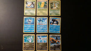 75 Pokémon cards for sale- rare... and more